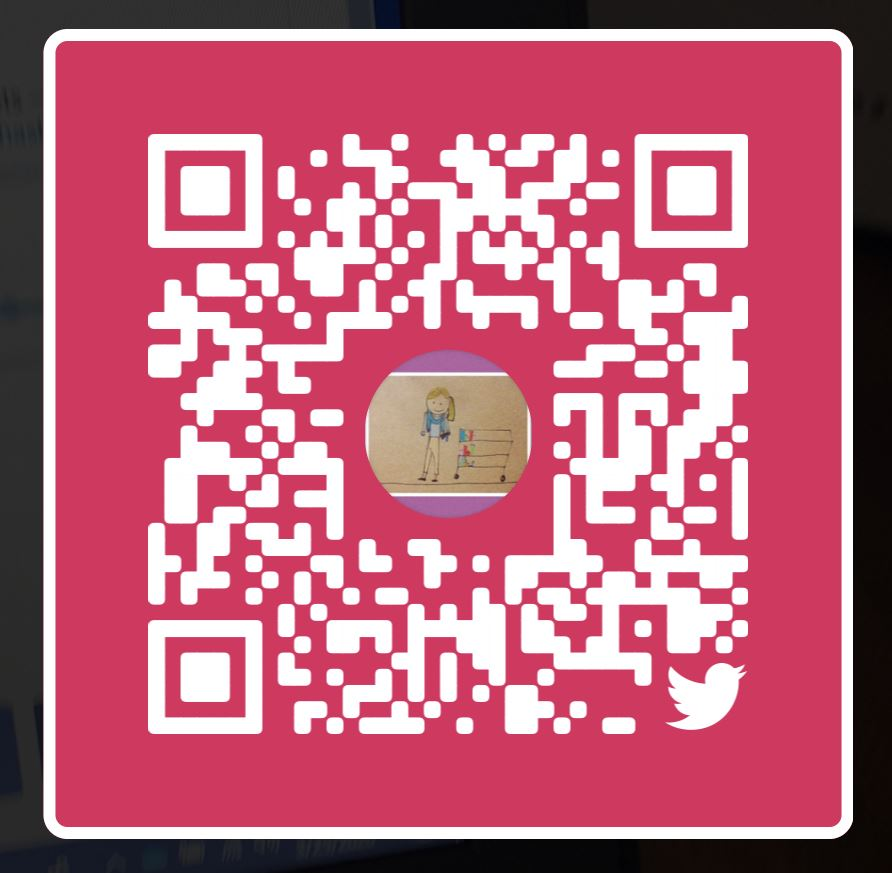SCAN this QR code to FOLLOW @WhathaveyouREAD on Twitter