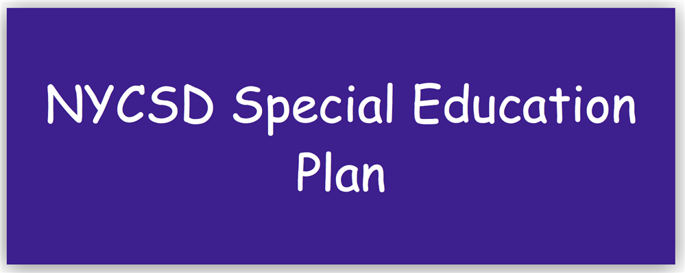 NYCSD Special Education Plan