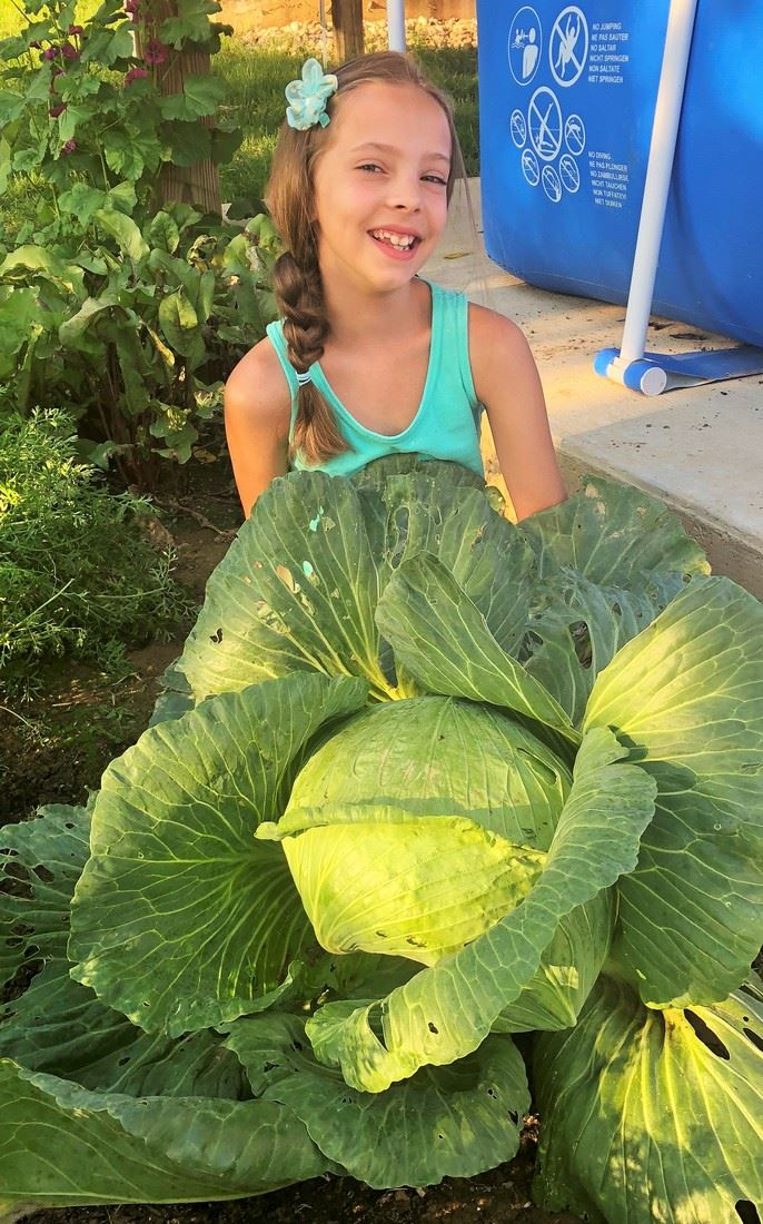 Northern Elementary Student Participates in Bonnie Cabbage Program