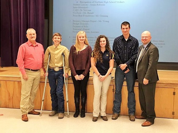 Northern High School Students Honored