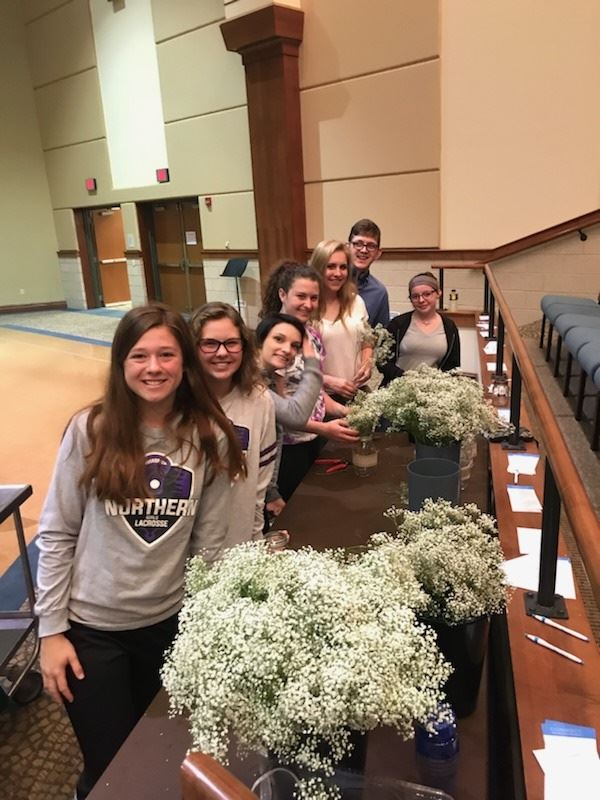 High School Floral Design Class Creates Arrangements for Consortia Prom