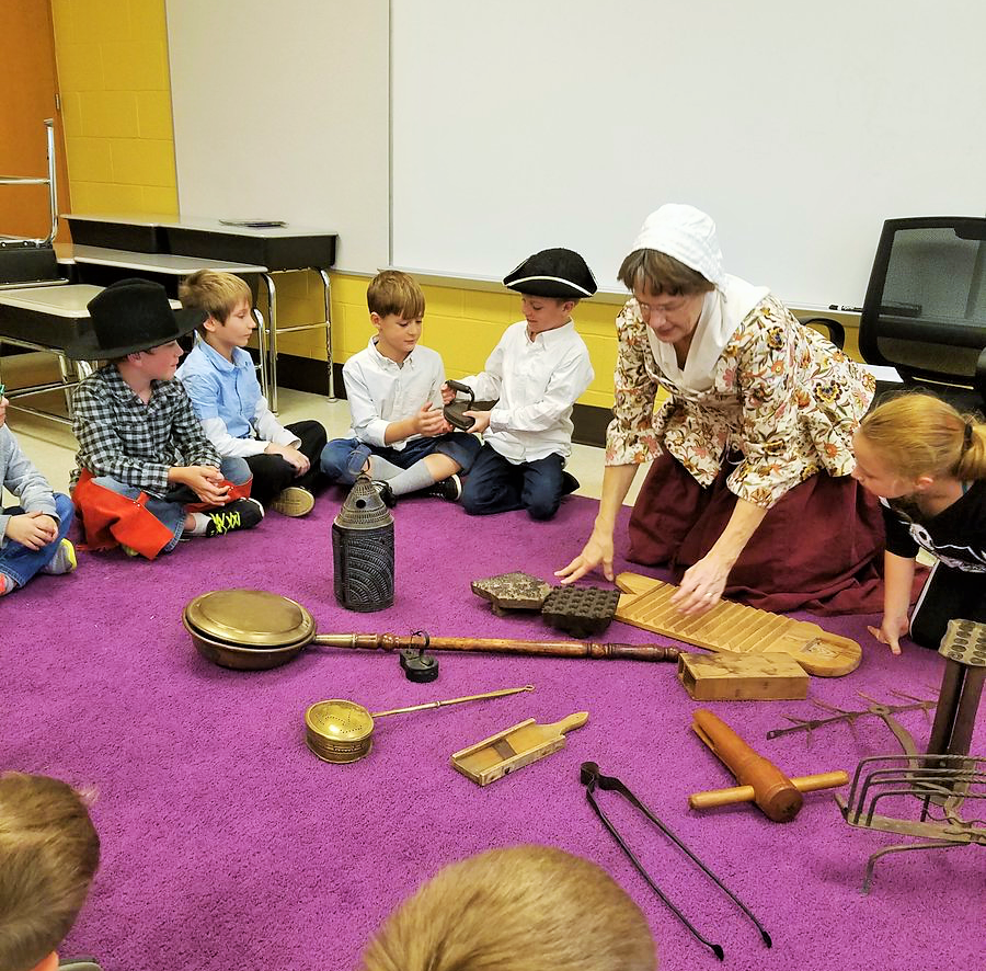 Dillsburg Elementary Students Celebrate Heritage Day