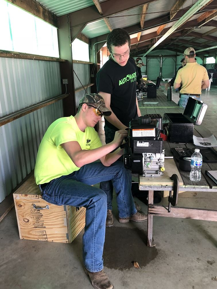 FFA Students Participate in Competition