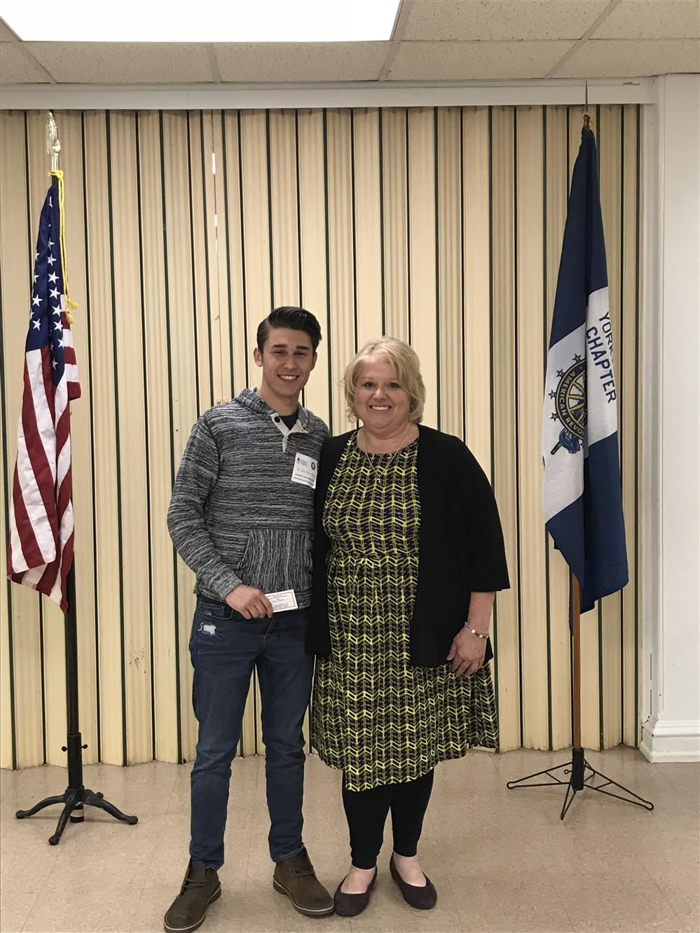 Northern Senior Grant Franko Receives Good Citizen Award