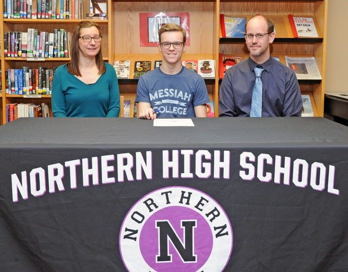 NHS Student Signs Letter of Intent