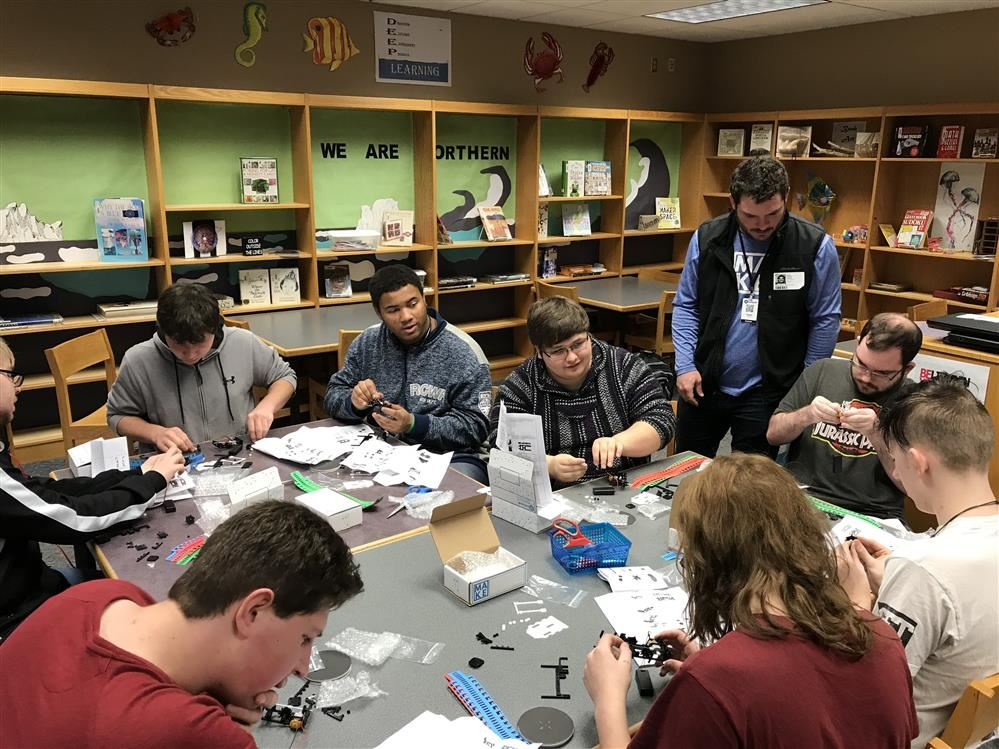 Katapult Labs Visits Northern High School PIT Crew