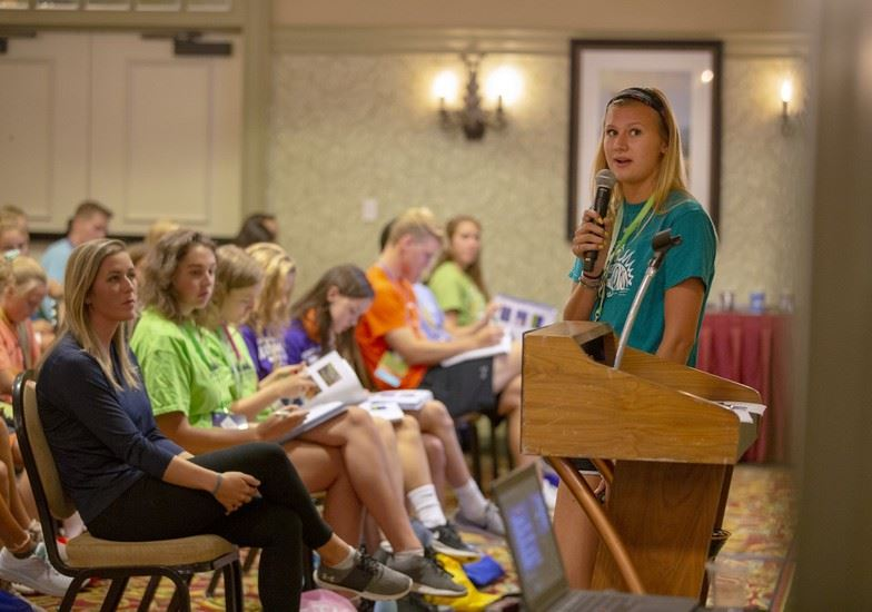 Northern Alumni Presents at Four Diamonds MiniTHON Conference