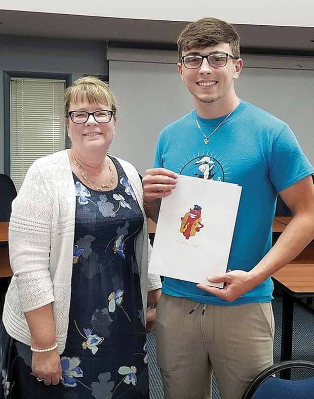Northern Senior Wins Art Contest