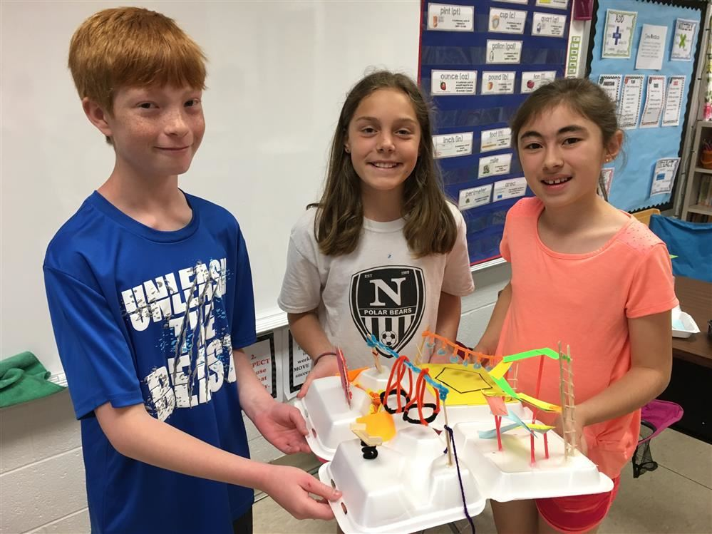 South Mountain Students Study the Geometry of a Playground