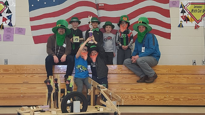 South Mountain Odyssey of the Mind Team Competes this Weekend