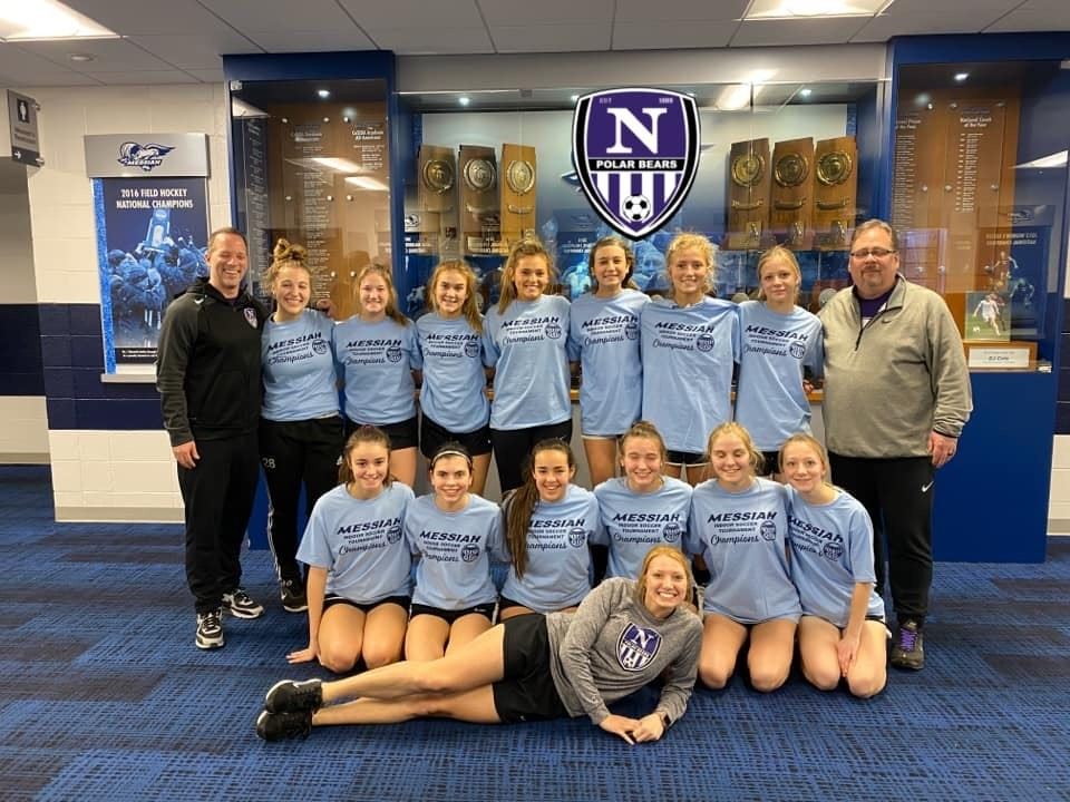 Northern Girls Soccer Wins Messiah Indoor Tournament
