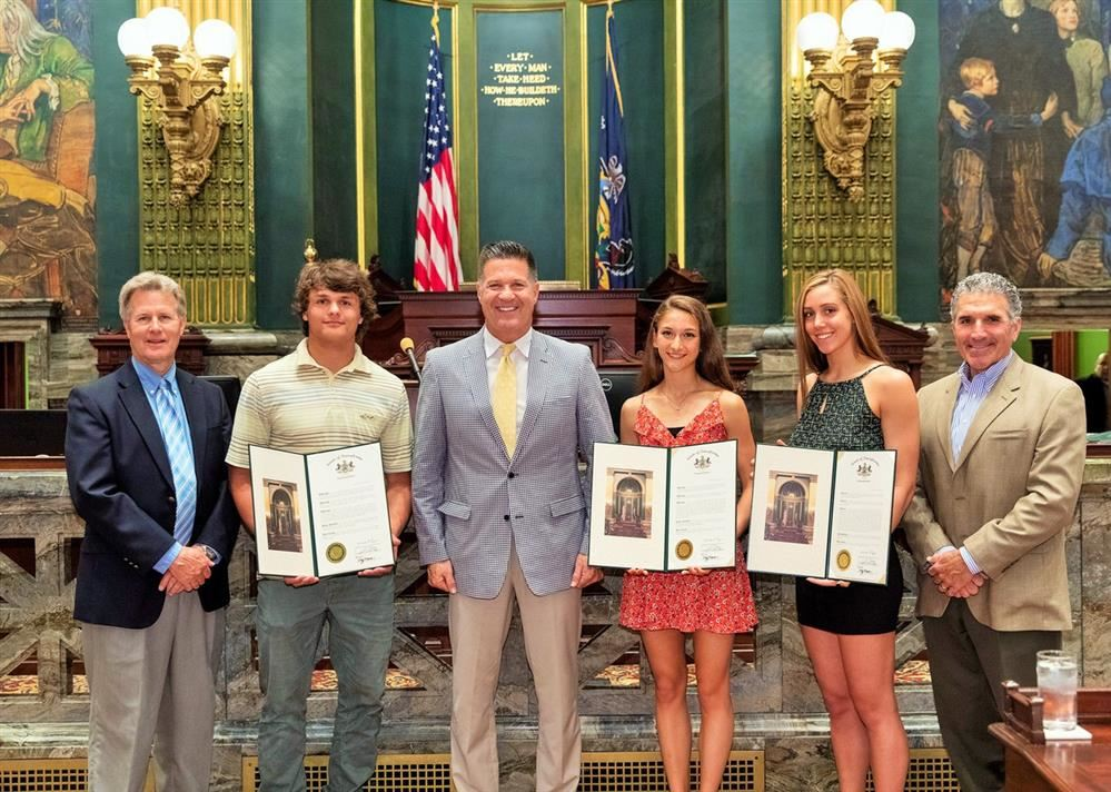 Northern State Champions Honored at the State Capitol