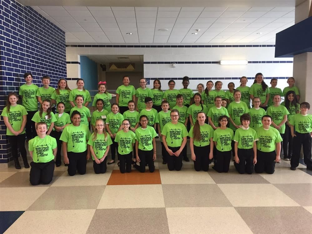 Northern Students Participate in the York County Elementary Choral Festival