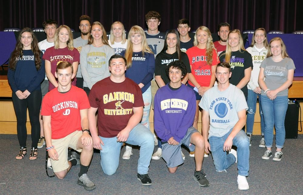 Northern High School Senior Athletes Sign College Letters of Intent