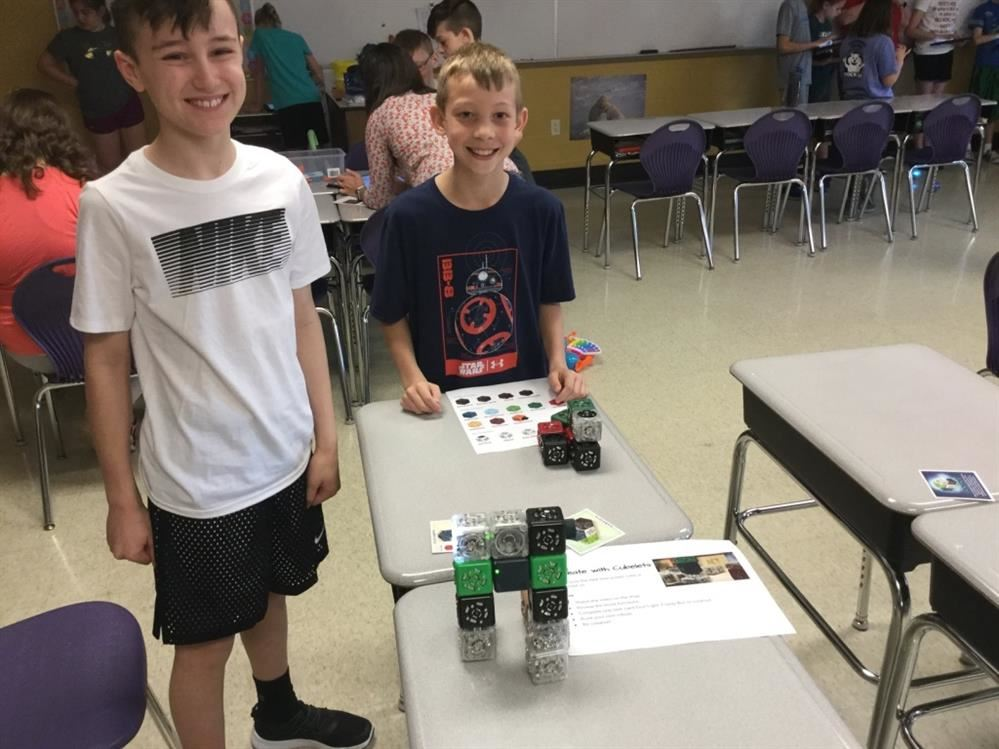 Dillsburg Elementary Students Participate in STEM Day