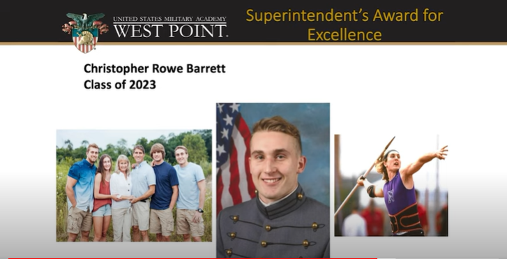 Northern HS Graduate Honored at West Point